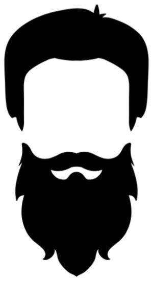 Beard Clip Beard Clipart Beard Style Pencil And In Color Beard