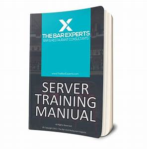 Free Server Training Manual