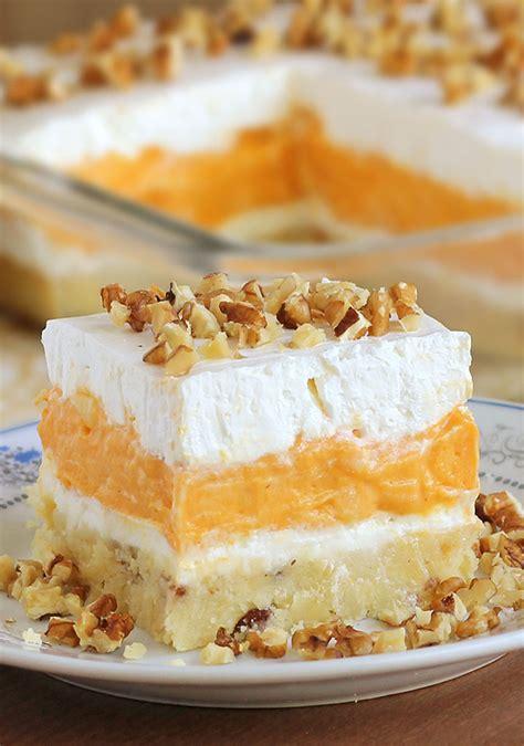 pumpkin dessert pumpkin delight recipe