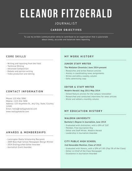 customize  resume templates  canva