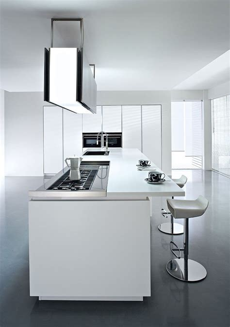 Cucine A Isola Moderne by Cucine Moderne Con Isola O Ad Angolo Bianche Ed