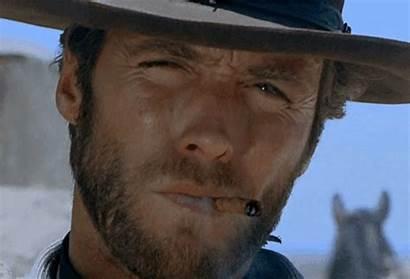 Eastwood Clint Cowboy Smoking Gun Hobo Mule
