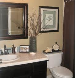 guest bathroom ideas guest bath makeover total cost 240 chocolate brown blue bathroom remodel