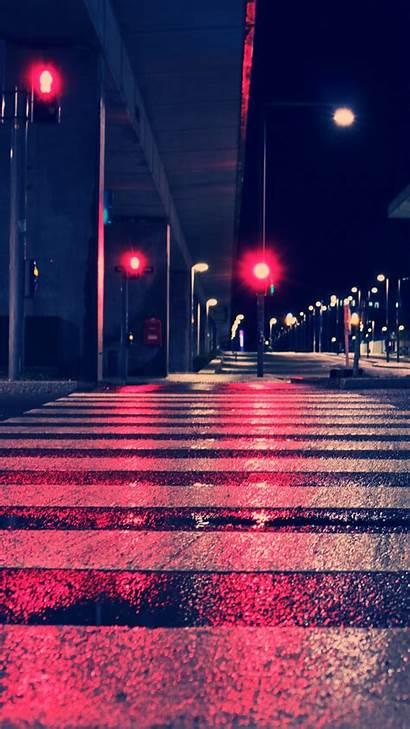 4k Street Night Lights Wallpapers Google Pixel