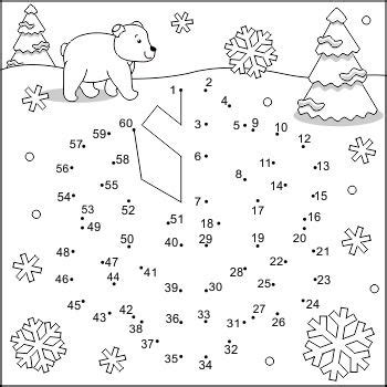 connect  dots  coloring page  snowflake