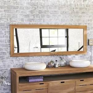 33 bathroom designs with brick wall tiles ultimate home With grand miroir salle de bain rectangulaire