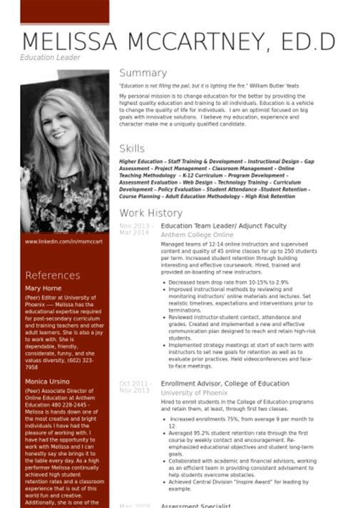 it service desk team leader resume