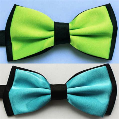 solid color  tone mens bowtie men tuxedo bow tie