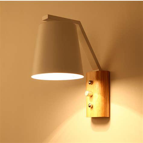 e27 cloth modern led wall l sconce light for hallway