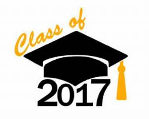 Class of 2017 decal | Etsy
