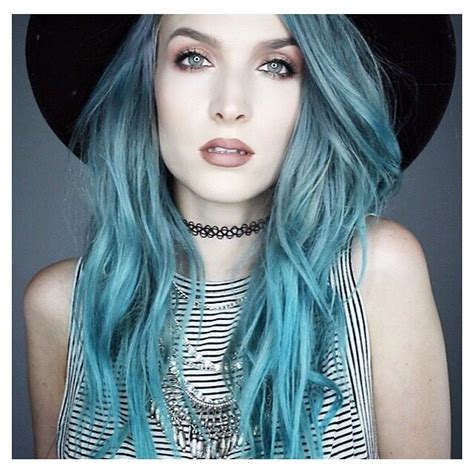 916 Best Images About Bluegreen Hair On Pinterest