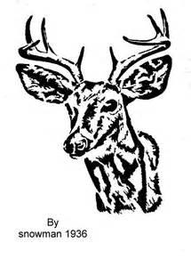 Deer Head Scroll Saw Patterns