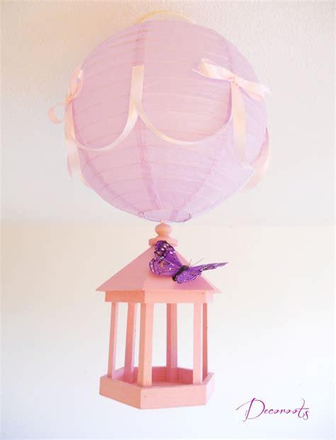 luminaire chambre bebe fille le suspension cage envol de papillons enfant bébé