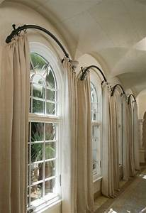 25+ best ideas about Arched Window Curtains on Pinterest ...