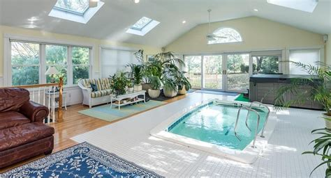Living Room In Pool by This House For Sale In Brighton Has A Pool In The Living Room