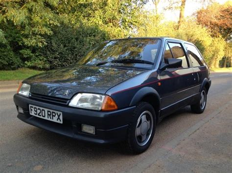 Citroen Gt For Sale by 1989 Mk1a Citroen Ax Gt Early Spec For Sale Car And