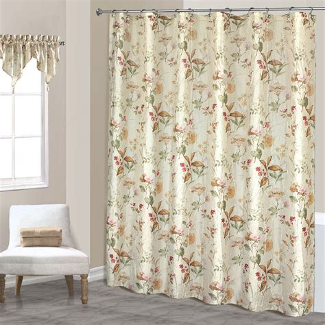 floral shower curtain smith shower curtain ribbon floral home bed