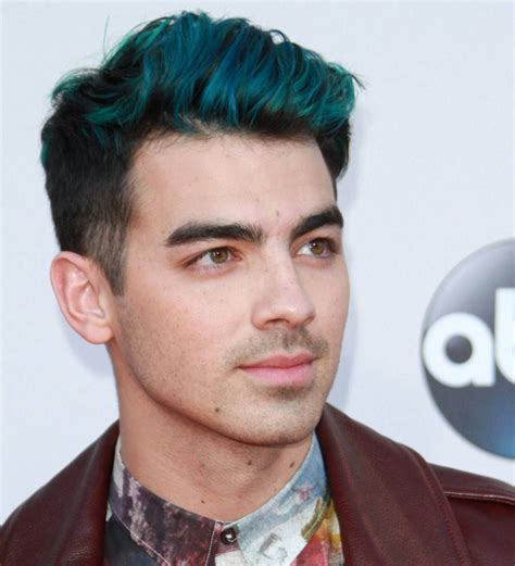 Joe Jonas Laughs Off Blue Hair Gossip Young Hollywood