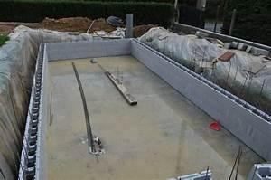 Piscine En Kit Polystyrène : montage des murs de la piscine piscine en blocs polystyr ne ~ Premium-room.com Idées de Décoration