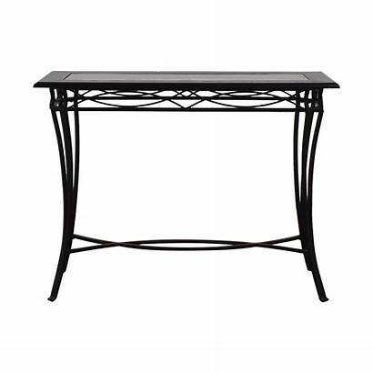 Console Table Metal Glass Target Tables Kaiyo