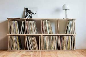 Meuble Platine Vinyle Vintage : meuble commode pour disques vinyles ~ Teatrodelosmanantiales.com Idées de Décoration