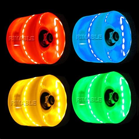 light up skateboard wheels review rimable led light up skateboard wheels