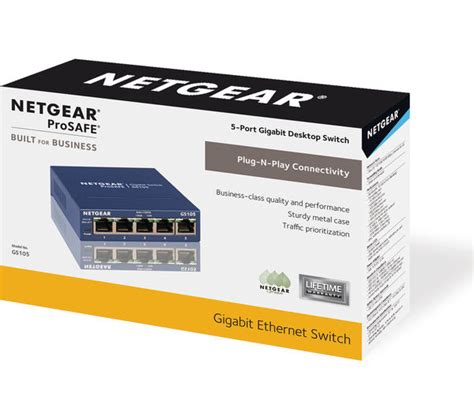 Netgear Prosafe 5 buy netgear prosafe gs105 network switch 5 free