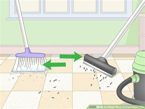 3 ways to clean vinyl composition tile wikihow
