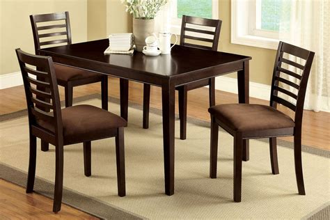 table and four chairs dining room furniture table 4 chairs with padded