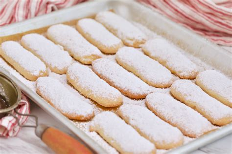 See recipes for crispy and crunchy lady fingers too. Homemade Ladyfingers Recipe (+ Video) - Gemma's Bigger Bolder Baking