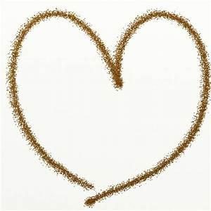 Gold Glitter Heart Clipart Free Stock Photo - Public ...