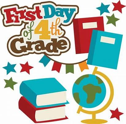 Grade 4th Clipart Svg Clip Scrapbook Classroom