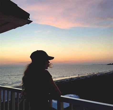 standing  balcony   beach house