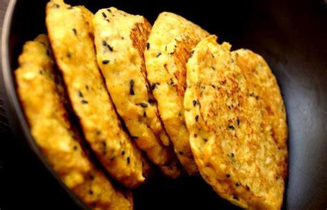 recette cuisine regime galettes ou blinis ou pancakes aux lentilles corail et
