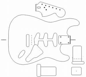 fender stratocaster 1960 template vinyl guitar making With routing guide template
