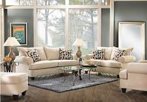 Ansley Park Pearl 7pc Classic Living Room