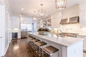 extra long kitchen island with gray barstools With best brand of paint for kitchen cabinets with dream big wall art