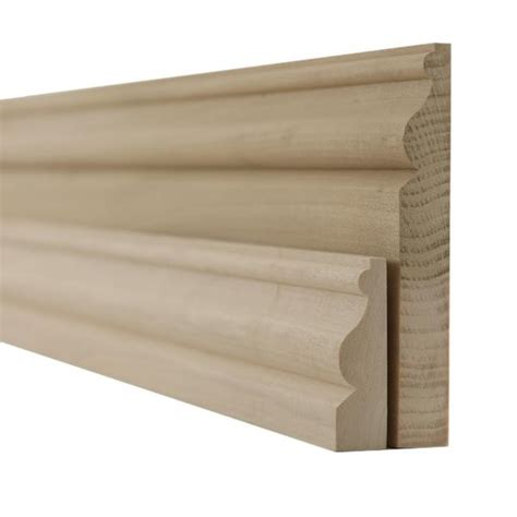 tulipwood ogee skirting boards  architrave