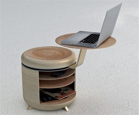 design hardwood products unique stool with table and storage in one tandem home building furniture and interior