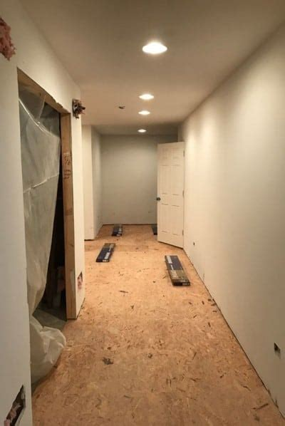 Basement Subfloor Options DRIcore Versus Plywood   Home