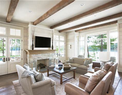 lake house living room lake house with transitional interiors home bunch