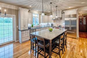home addition contractors construction syracuse cny With large multi function kitchen island for practical kitchen