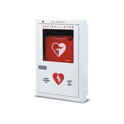 Defibrillator Cabinet by Philips Defibrillator Cabinet Semi Recessed
