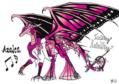 azalea the rainwing wings of fanon wiki fandom powered by wikia