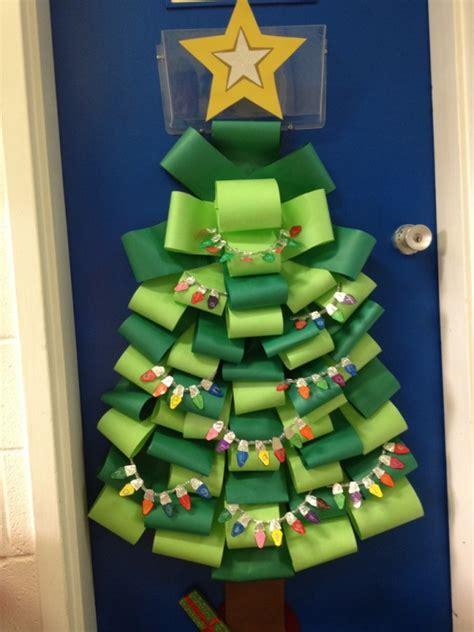school door decorations xmas christmas classroom door