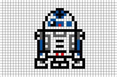 Pixel Wars Dessin D2 R2 Facile Leerlo