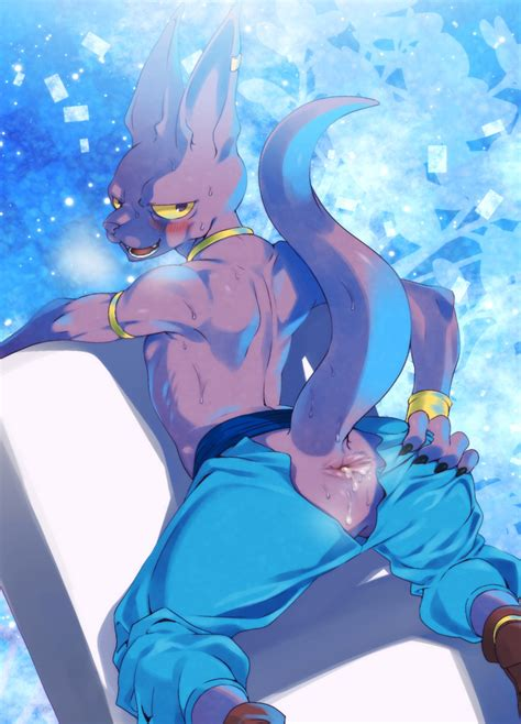 rule 34 after sex agemono alien anthro anus ass beerus clothing cum cum in ass cum inside