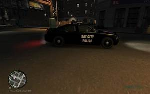 GTA 4 2010 Dodge Charger Bay City Police Texture Mod ...