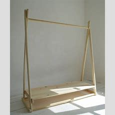 Kleiderstange Holz Selber Bauen Wohndesign