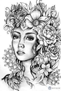 39 Best magical beauties images | Coloring books, Adult